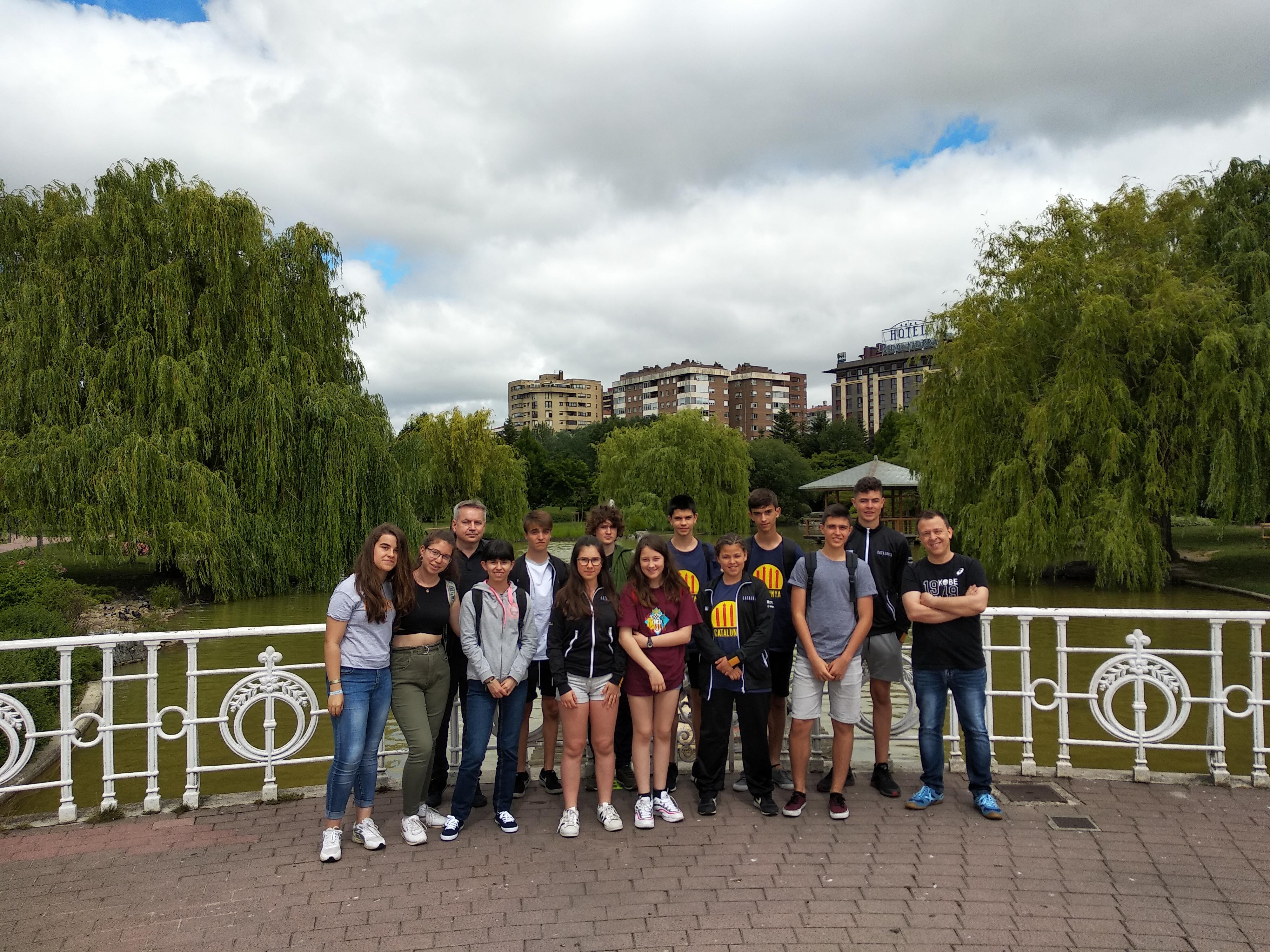 La expedición catalana en el Parque de Yamaguchi