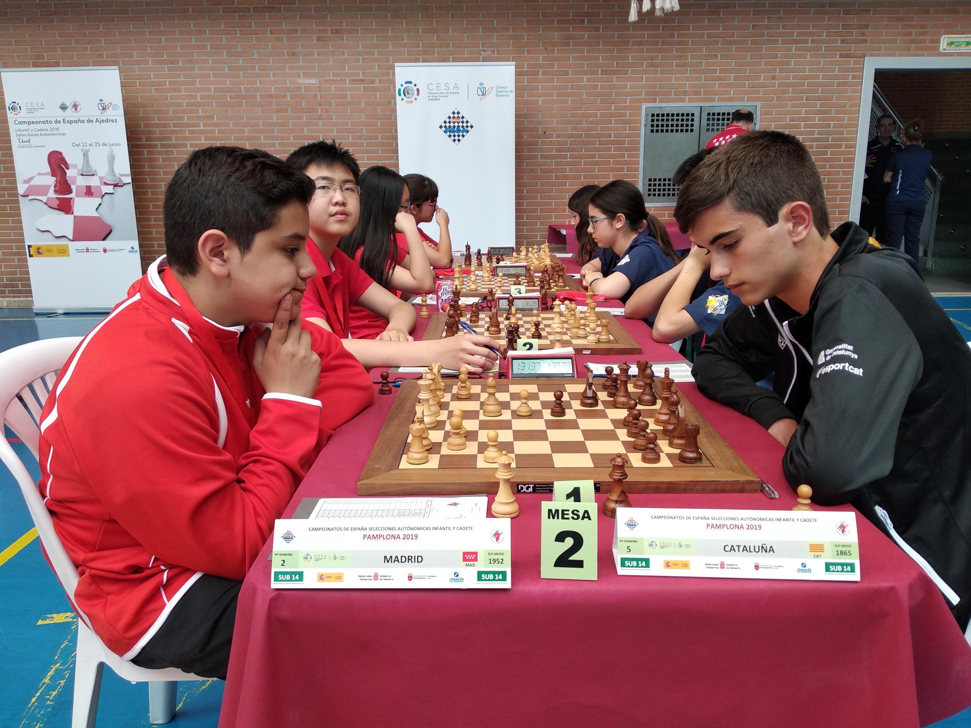 Crucial encuentro de segundo ronda contra Madrid