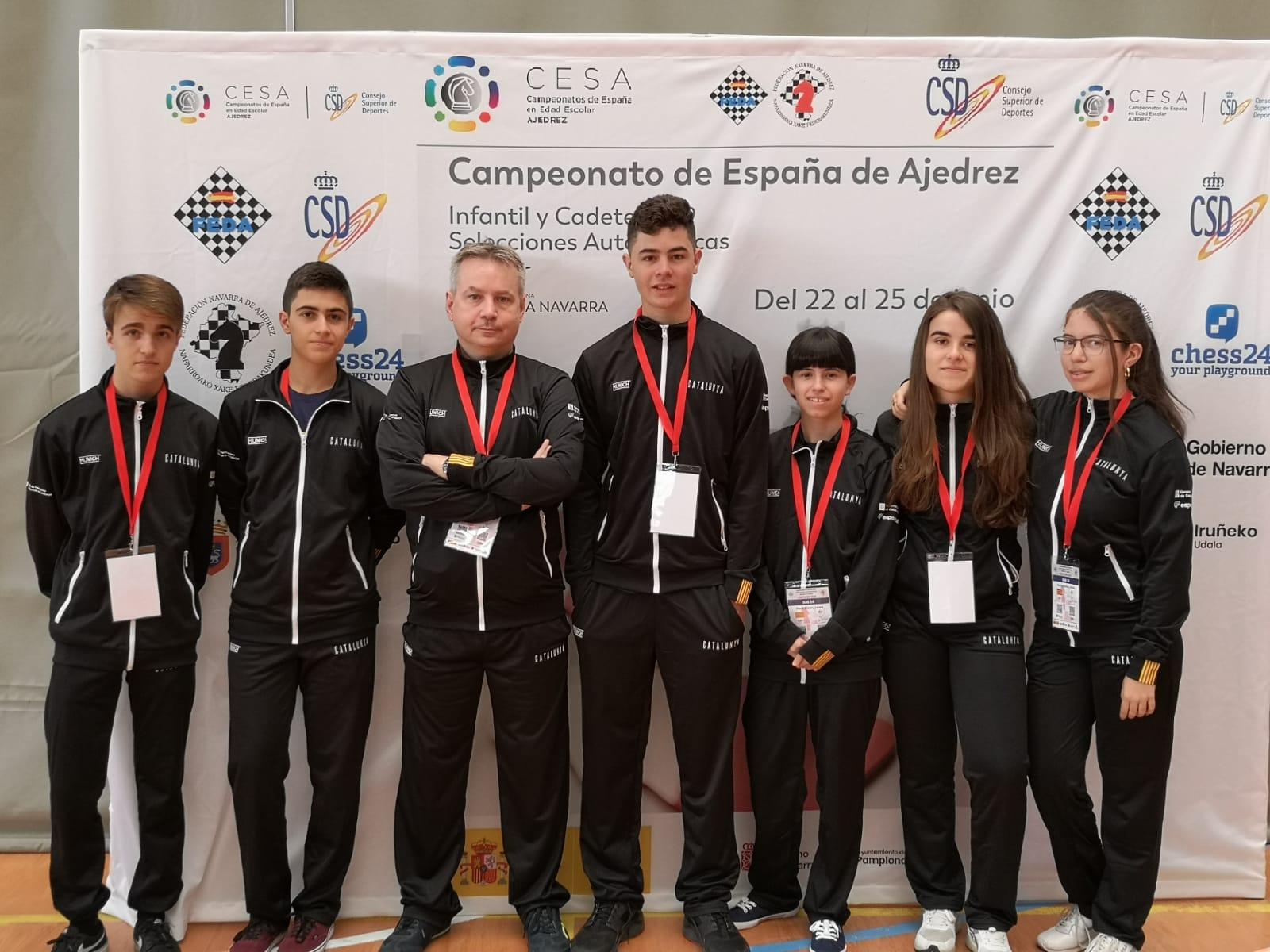 El equipo catalán sub16
